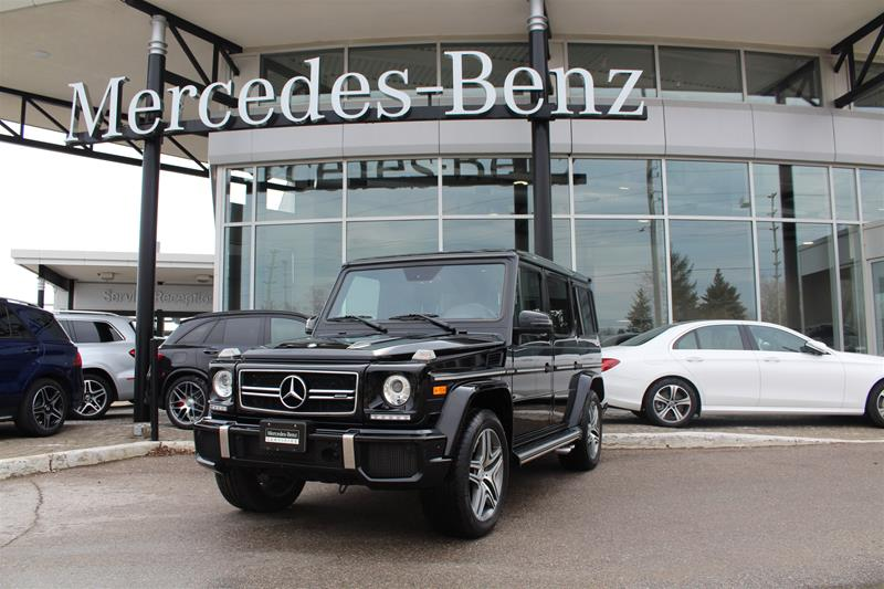Certified Pre-Owned 2016 Mercedes-Benz G-Class SUV