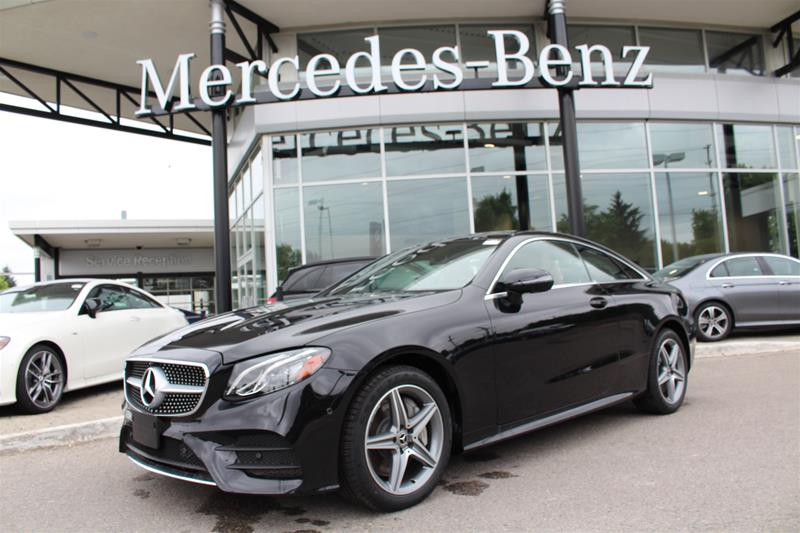 New 2019 Mercedes-Benz E Series 4MATIC Coupe