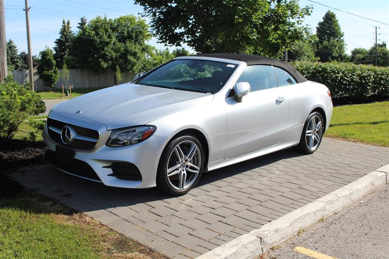 Pre-Owned 2019 Mercedes-Benz E-Class 4MATIC Cabriolet