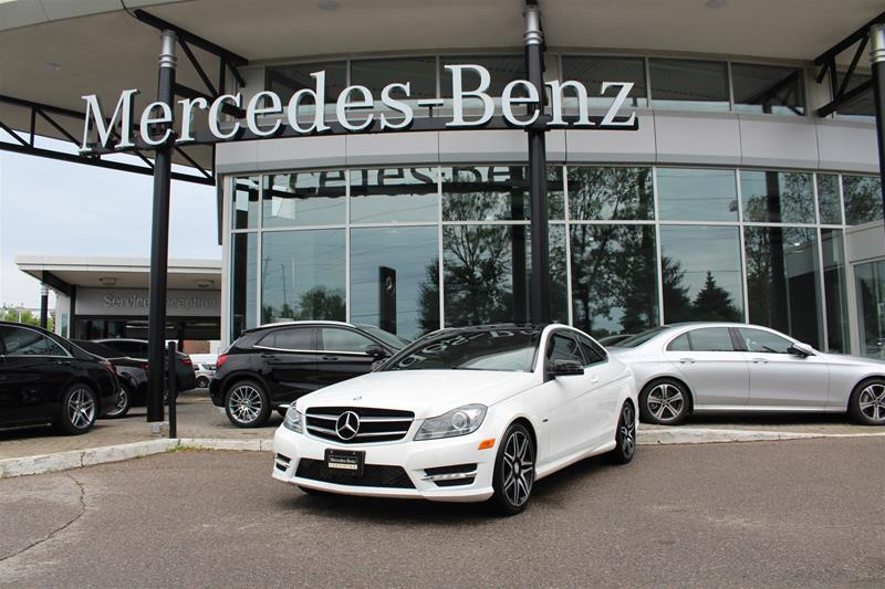 Certified Pre-Owned 2015 Mercedes-Benz C-Class Coupe