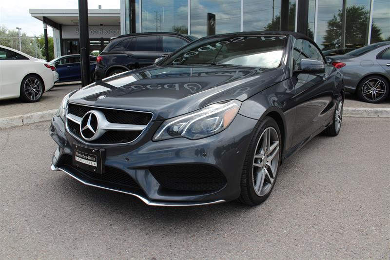 Certified Pre-Owned 2016 Mercedes-Benz E-Class Cabriolet