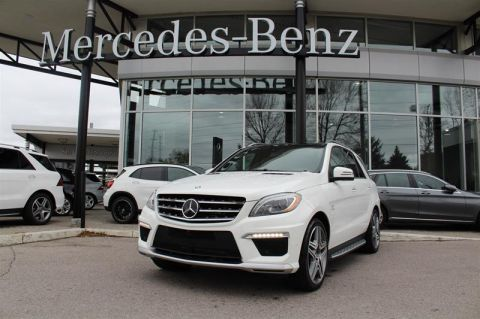 Certified Pre-Owned 2015 Mercedes-Benz ML Class