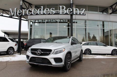 Certified Pre-Owned 2018 Mercedes-Benz GLE 4MATIC Coupe