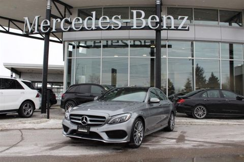 Certified Pre-Owned 2015 Mercedes-Benz C-Class 4MATIC Sedan