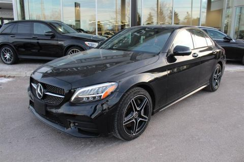 Pre-Owned 2019 Mercedes-Benz C-Class 4MATIC Sedan