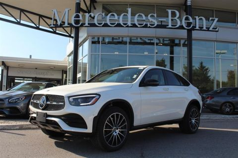 New 2020 Mercedes-Benz GLC 4MATIC Coupe