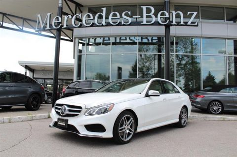 Certified Pre-Owned 2016 Mercedes-Benz E-Class 4MATIC Sedan