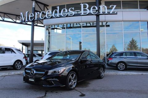 Certified Pre-Owned 2015 Mercedes-Benz CLA Coupe