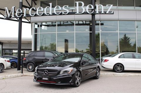 Certified Pre-Owned 2015 Mercedes-Benz CLA 4MATIC Coupe