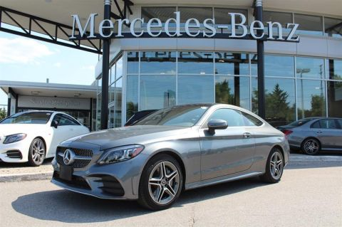 New 2019 Mercedes-Benz C-Class 4MATIC Coupe