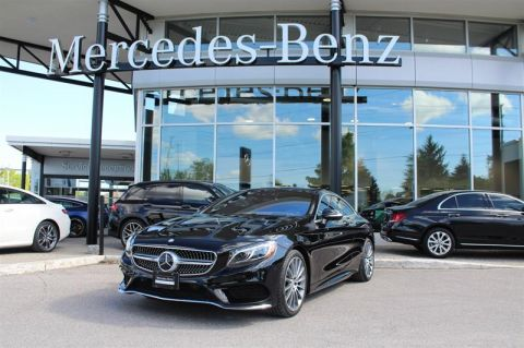 Certified Pre-Owned 2017 Mercedes-Benz S-Class 4MATIC Coupe