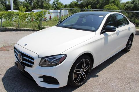 New 2019 Mercedes-Benz E-Class 4MATIC Sedan