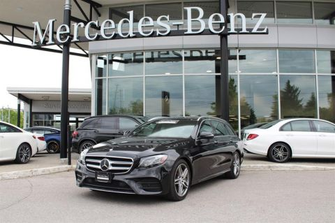 Certified Pre-Owned 2017 Mercedes-Benz E-Class 4MATIC Wagon